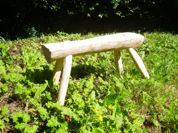 Make a stool from a log workshop