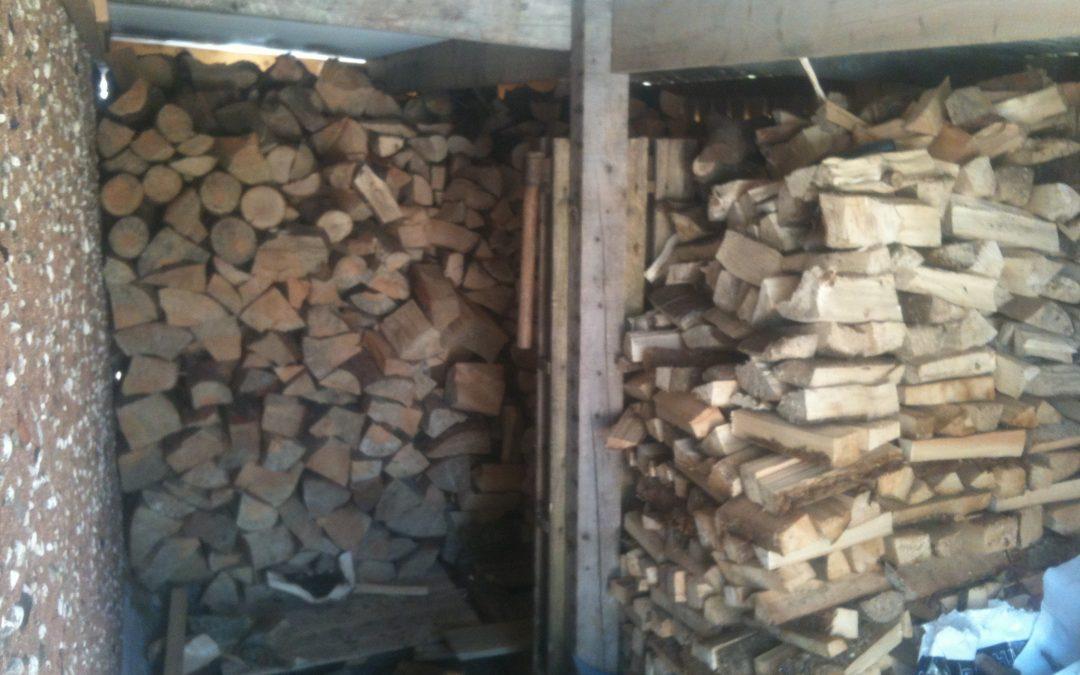 Firewood finally