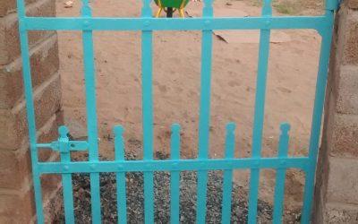 Restoring a gate