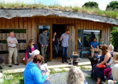 We offer courses in subjects such as off-grid living, permaculture, renewable energy and many others