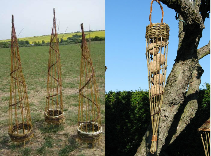 Willow garden structures – Saturday 3 March 2018