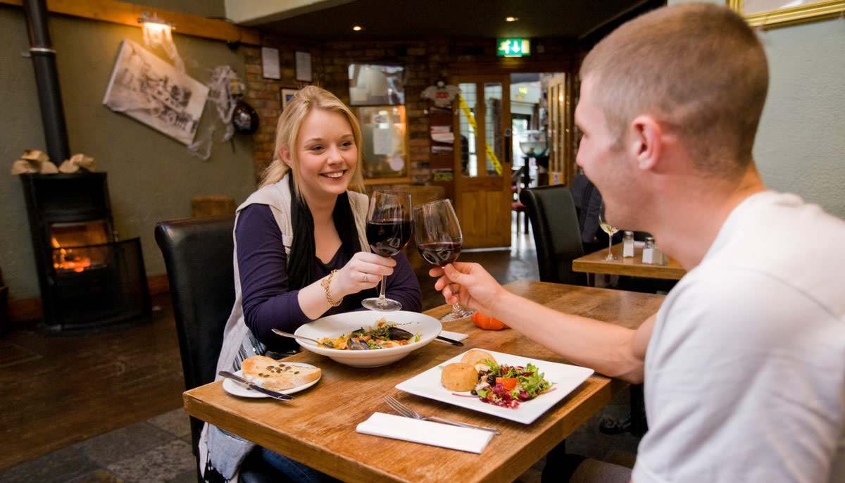 Places to eat and drink in Co Down Northern Ireland