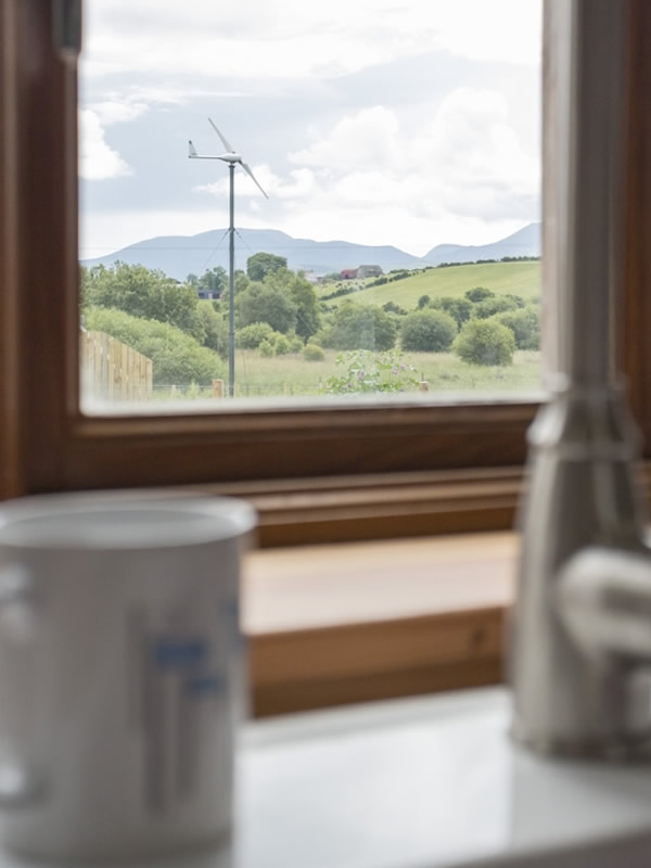 birch cottage unique self catering cottage has amazing views of the mountains and woodland