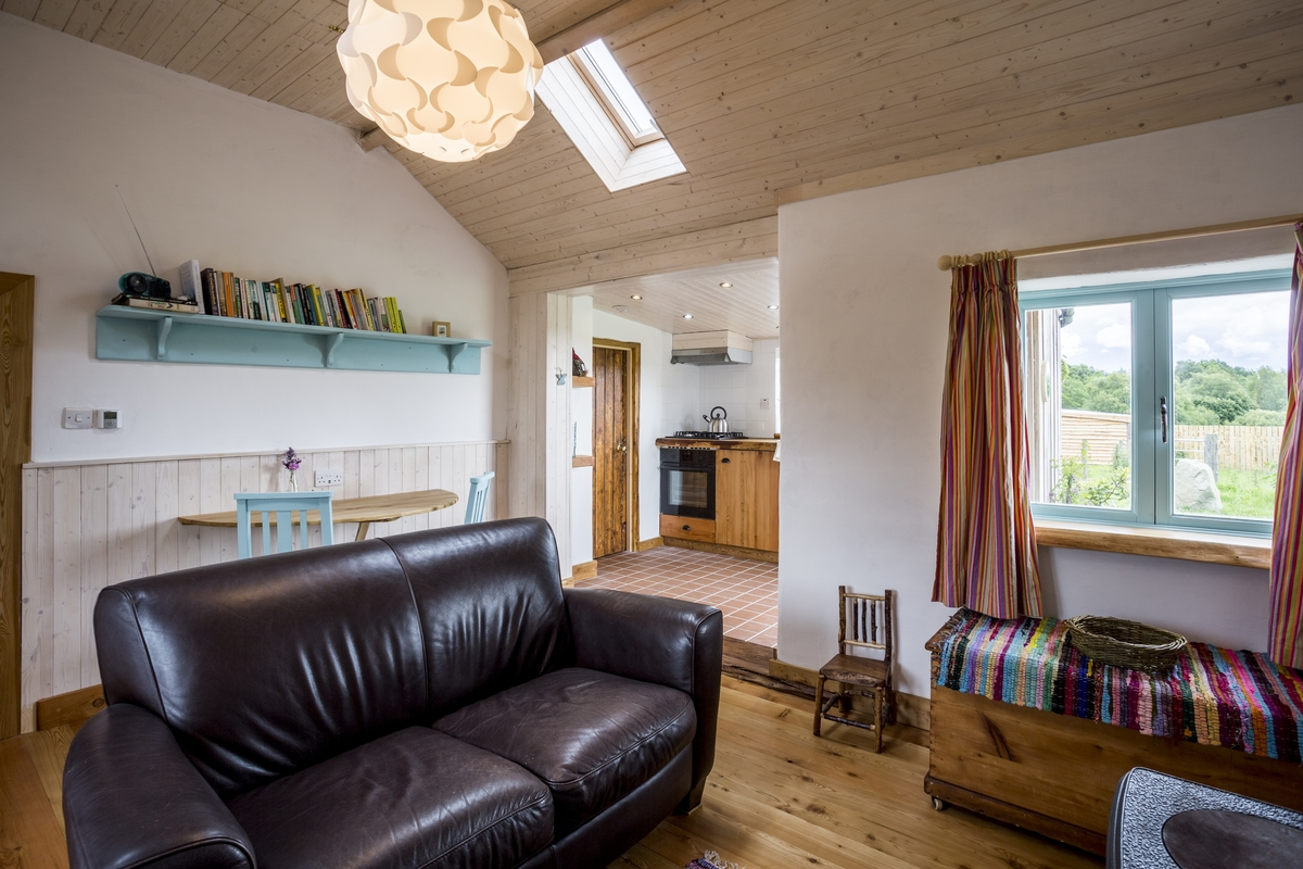 The best eco accommodation in Ireland can be found at Birch Cottage