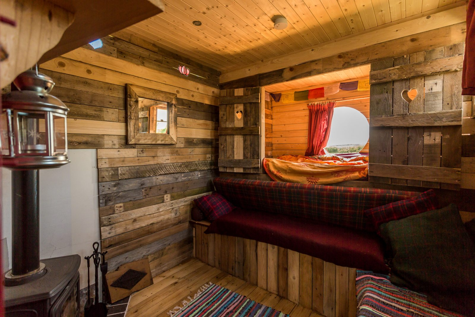 The off-grid horse box is one of the most unusual places to stay in Northern Ireland